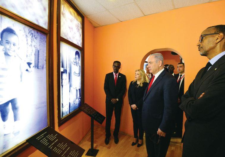 Netanyahu Africa