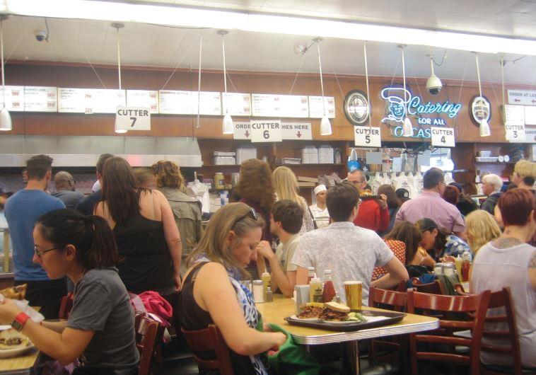 AFICIONADOS OF JEWISH deli food head to Katz's Delicatessen, on East Houston Street