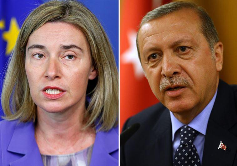 Mogherini Erdogan