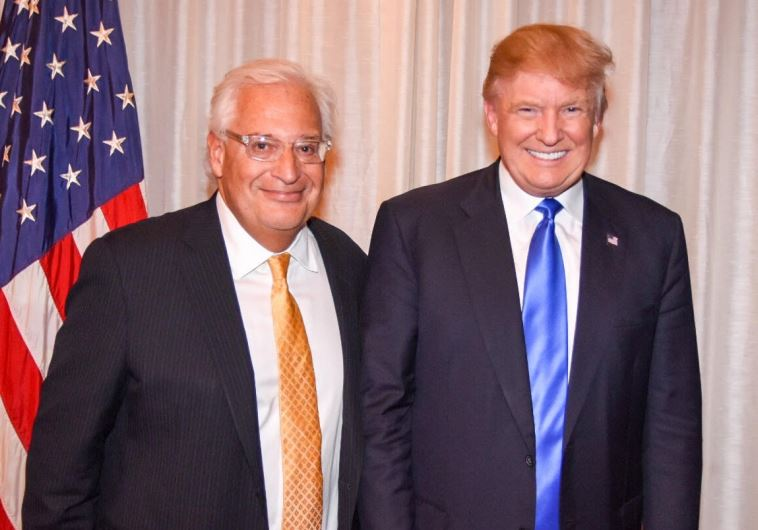 David Friedman and Donald Trump