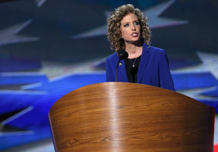 Democratic Party Chairwoman Debbie Wasserman-Shultz