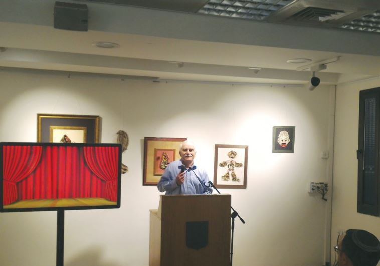 FORMER MK Yair Shamir, son of the late prime minister, speaks at the Lehi Museum in Tel Aviv yesterd