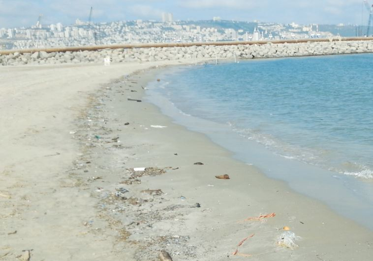 KIRYAT HAIM BEACH, north of Haifa, is seen on July 14. In the survey conducted a few days earlier, i