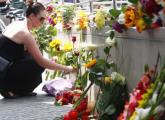 Flowers laid at site of deadly Munich attack