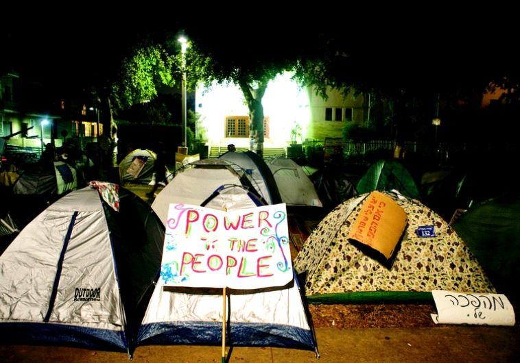 Les tentes de la révolte