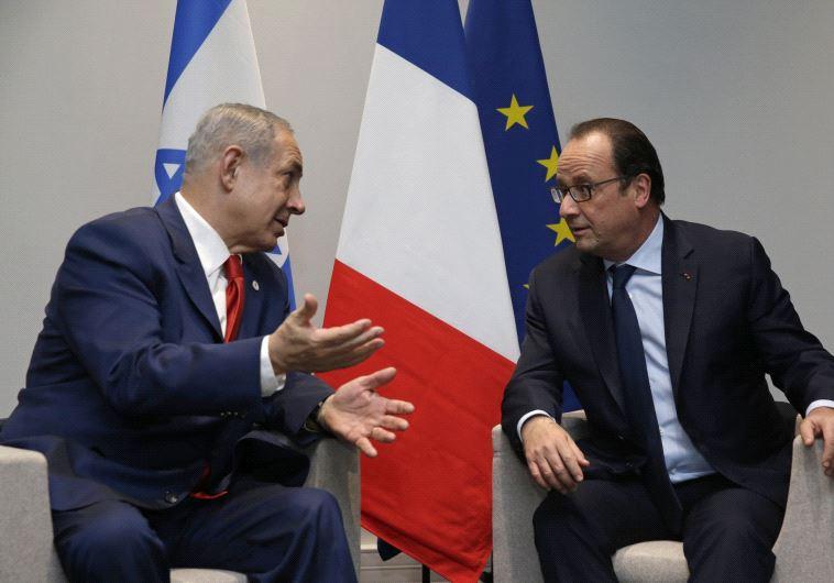 Hollande netanyahu