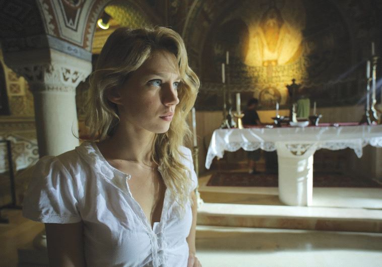 YAEL GROBGLAS stars in the Israeli horror film 'JeruZalem.'