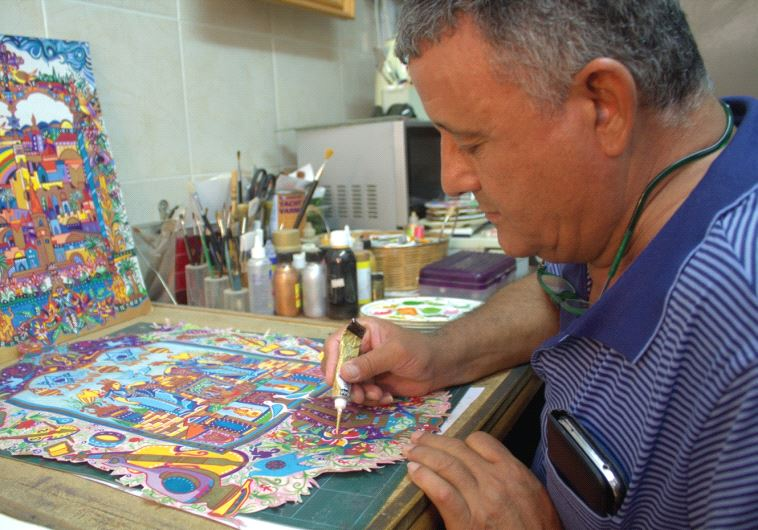 Artist Michael Elkayam