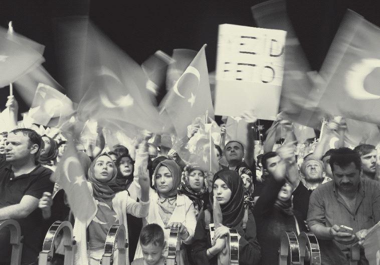 Demonstration in Turkey