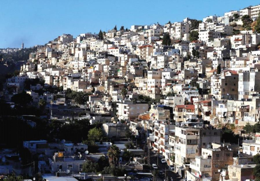 SILWAN, an Arab neighborhood close to Jerusalem's Old City, one of many places the author claims Ara