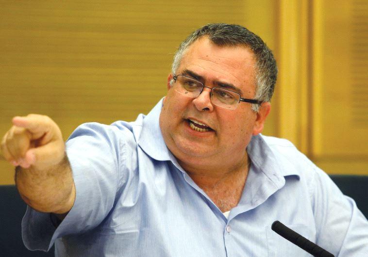 DAVID BITAN seen at the Knesset last year