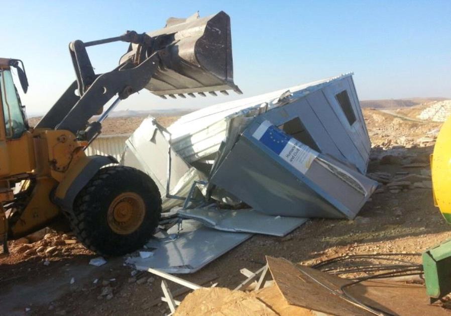 west bank demolition