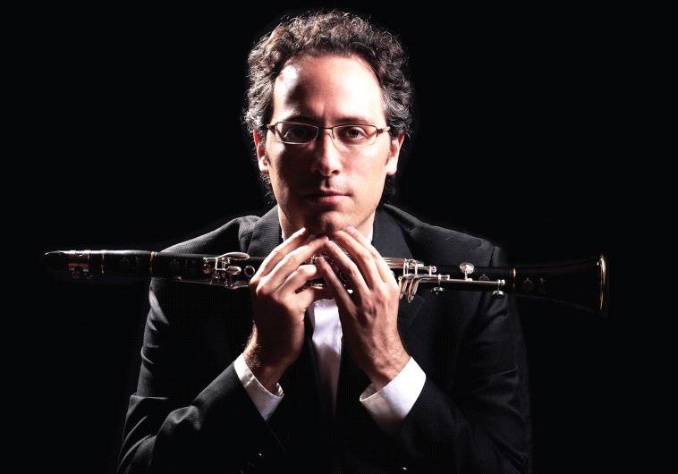 Israeli clarinetist Chen Halevi