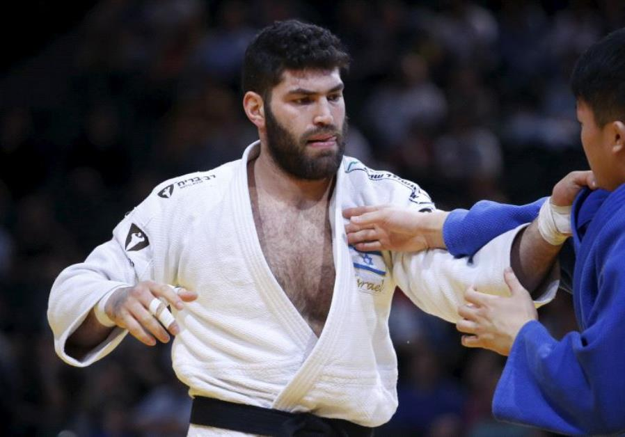 Or Sasson of Israel's Judo team