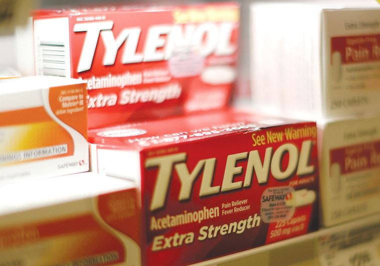 TYLENOL FOR sale on a shelf in Maryland.