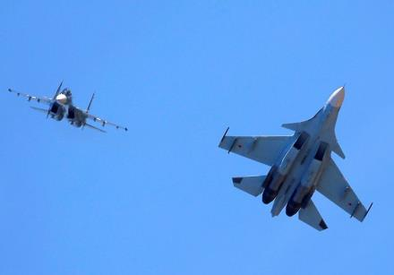 Russian jet fighters