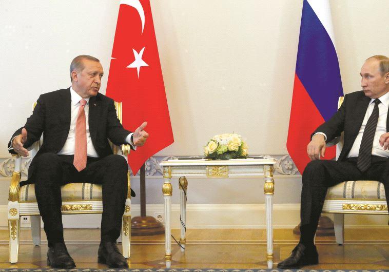 """Erdogan et Poutine, désormais """"amis"""" ?"""