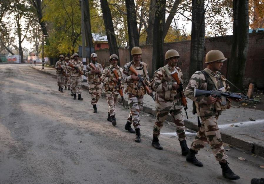 Indian security personnel