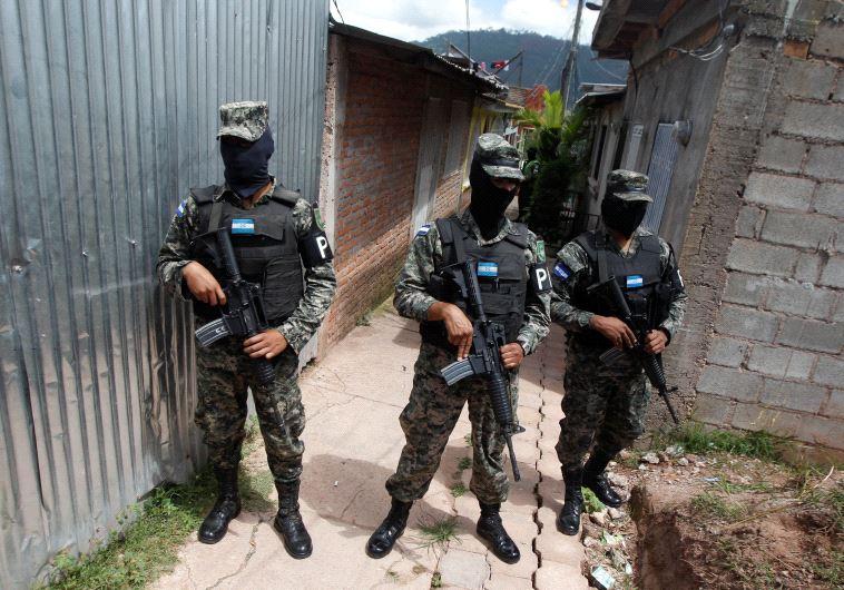 honduras police