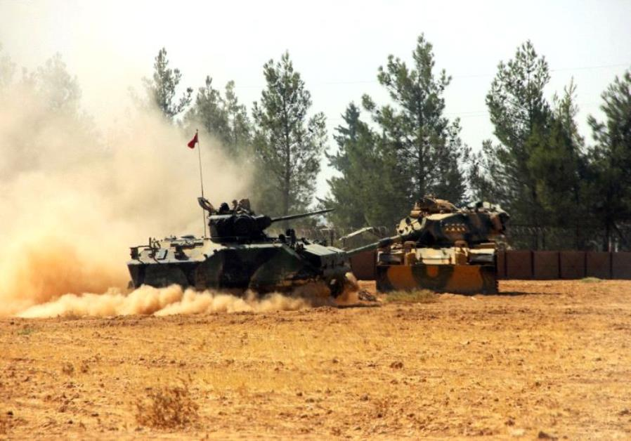 Diplomacy How Turkeys Advance Into Syria Impacts Israel Middle - Where is syria and turkey
