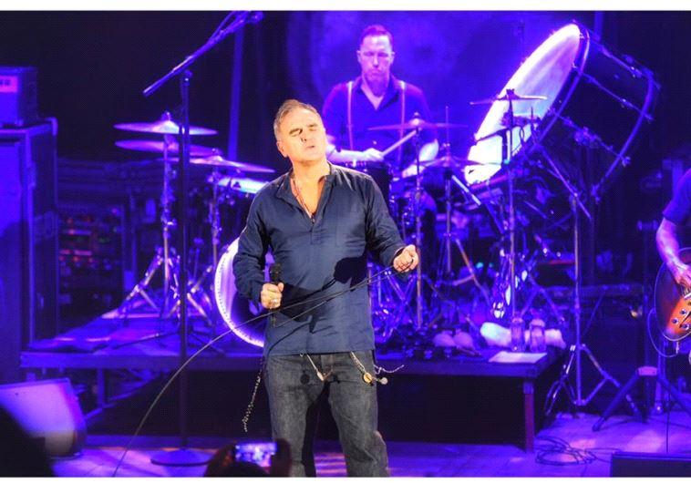 Morrissey concert in Tel Aviv.