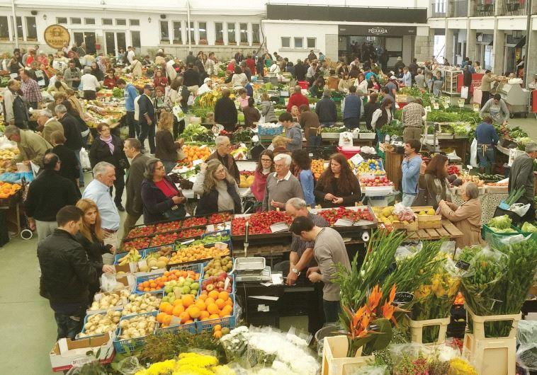 Coimbra farmers' market