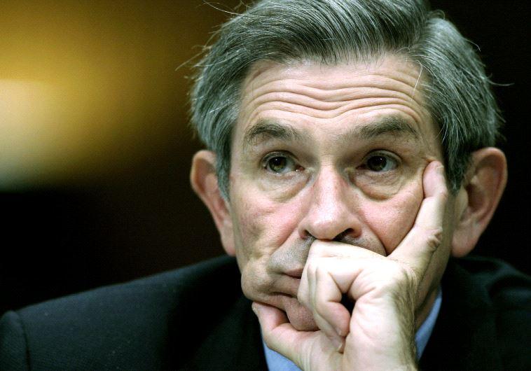 Former US deputy defense secretary, Paul Wolfowitz.
