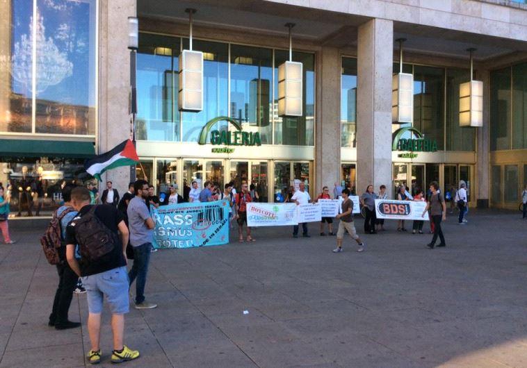 BDS activists in Berlin.