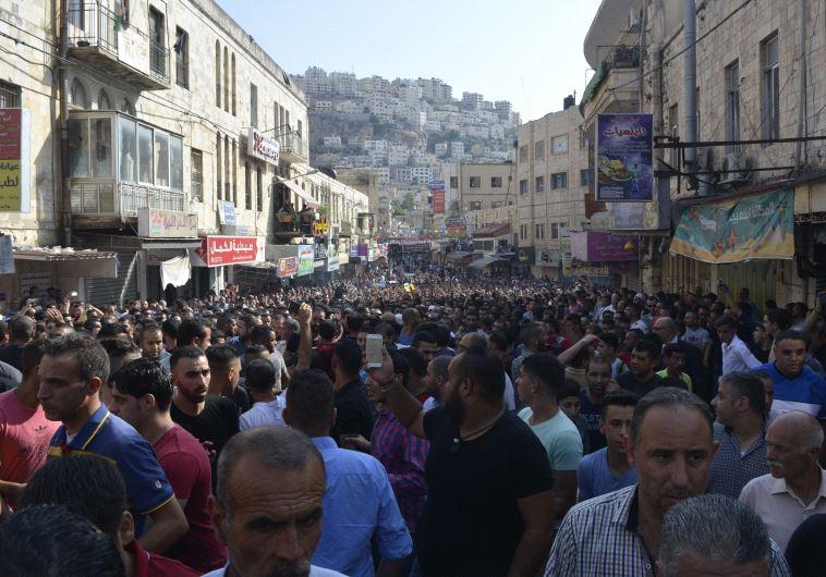 funeral, Nablus