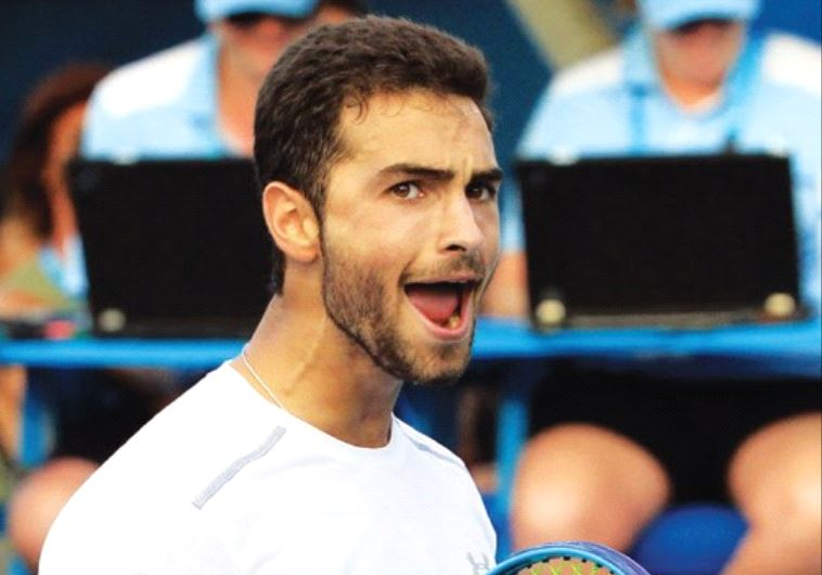 JEWISH AMERICAN Noah Rubin, the 2014 Wimbledon and US Boys Junior champion, came up just short of ma