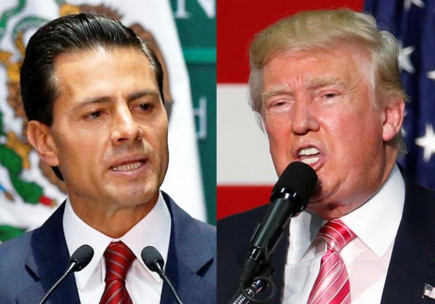 Enrique Pena Nieto  Donald Trump