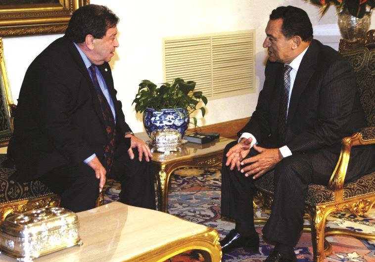 Rencontre avec le président Moubarak en 2005