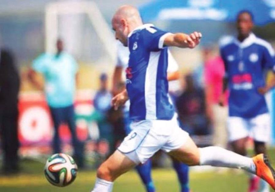 AFTER VISITNG Israel as a member of the South African soccer team for the 19th Maccabiah Games in 20