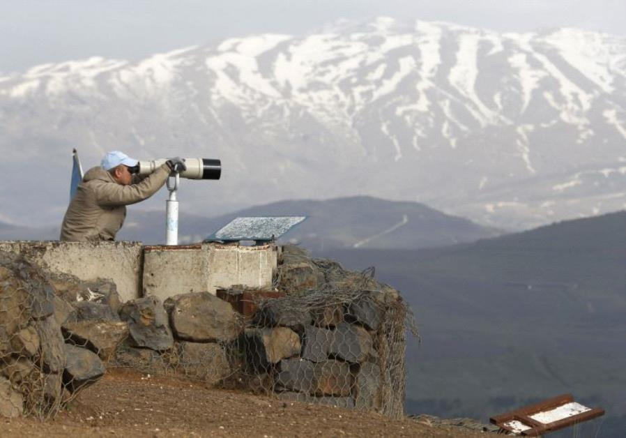 undof golan heights