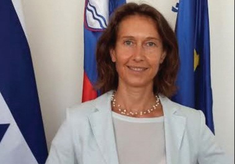 SLOVENIAN AMBASSADOR Barbara Susnik: We can help Israel economically and politically.