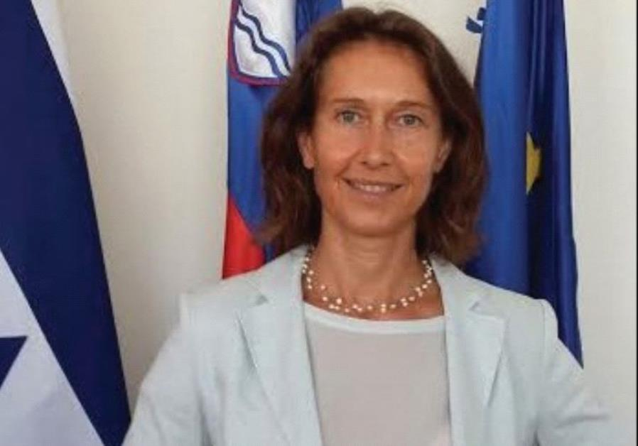 SLOVENIAN AMBASSADOR Barbara Susnik: We can help Israel economically and politically.