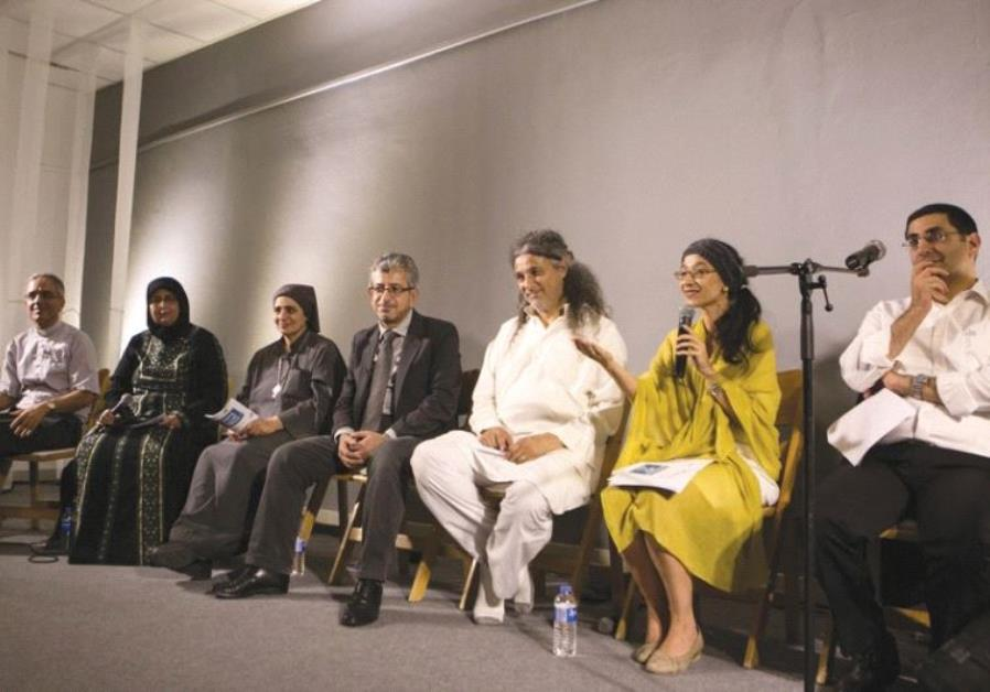 CHRISTIANS, JEWS and Muslims unite in an interfaith prayer and spiritual gathering called 'Amen – A
