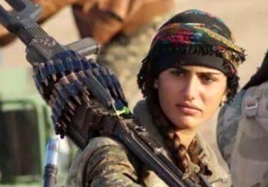 "Kurdish ""Angelina Jolie"" Asia Ramazan Antar"