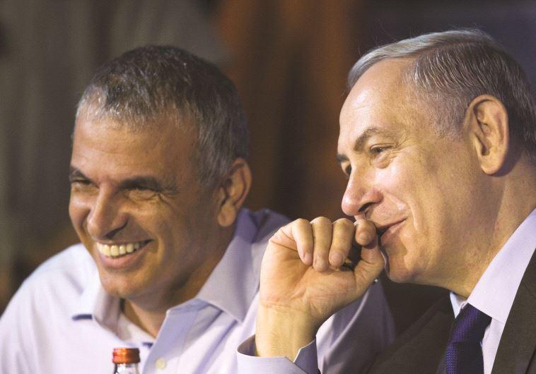 Netanyahou et Moshé Kahlon, ministre des Finances