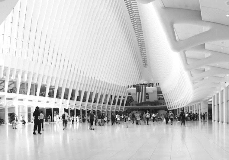 The newly-opened Oculus at New York's World Trade Center.