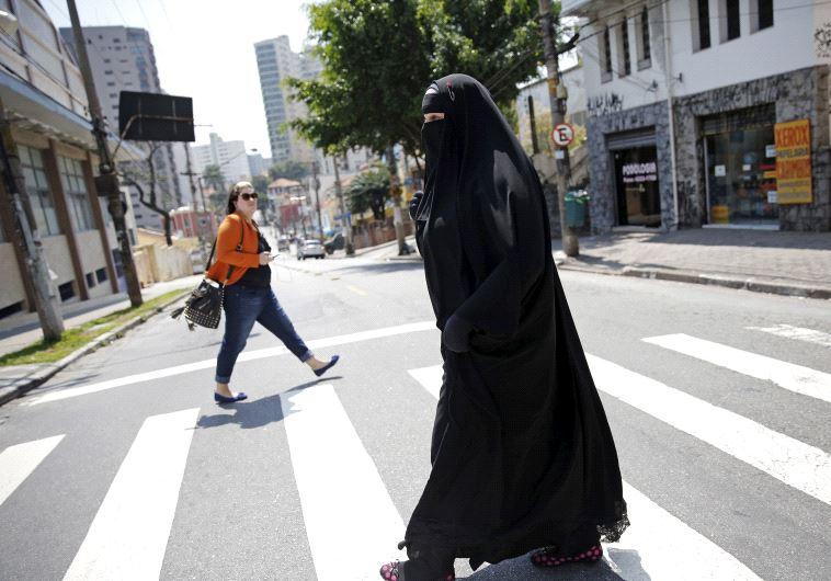 Muslim woman western