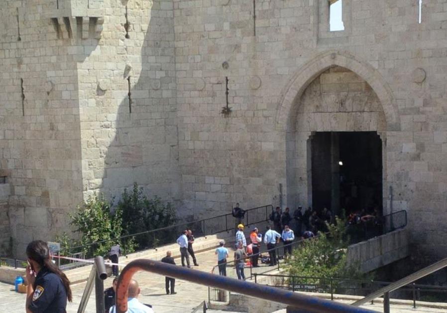 Terrorist attack at Damascus gate