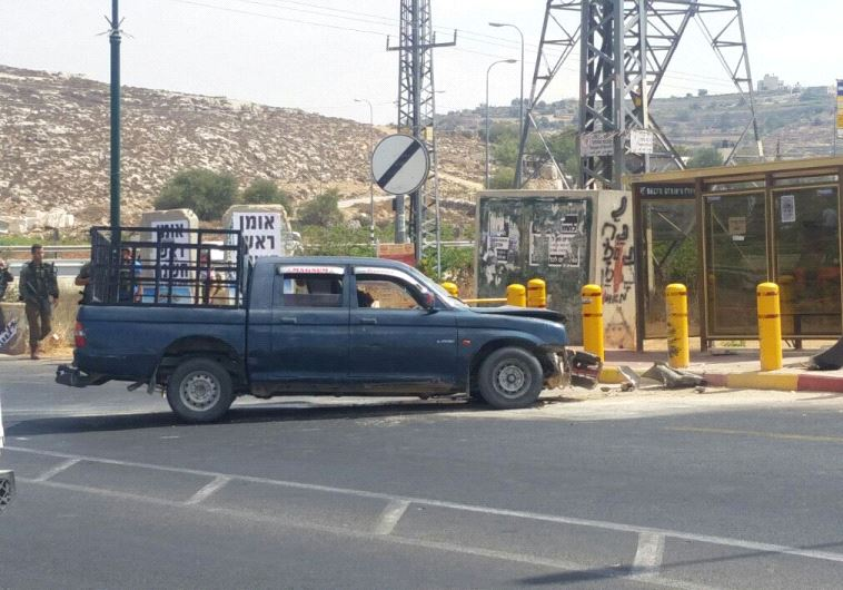 Car ramming attack thwarted in Kiryat-Arba