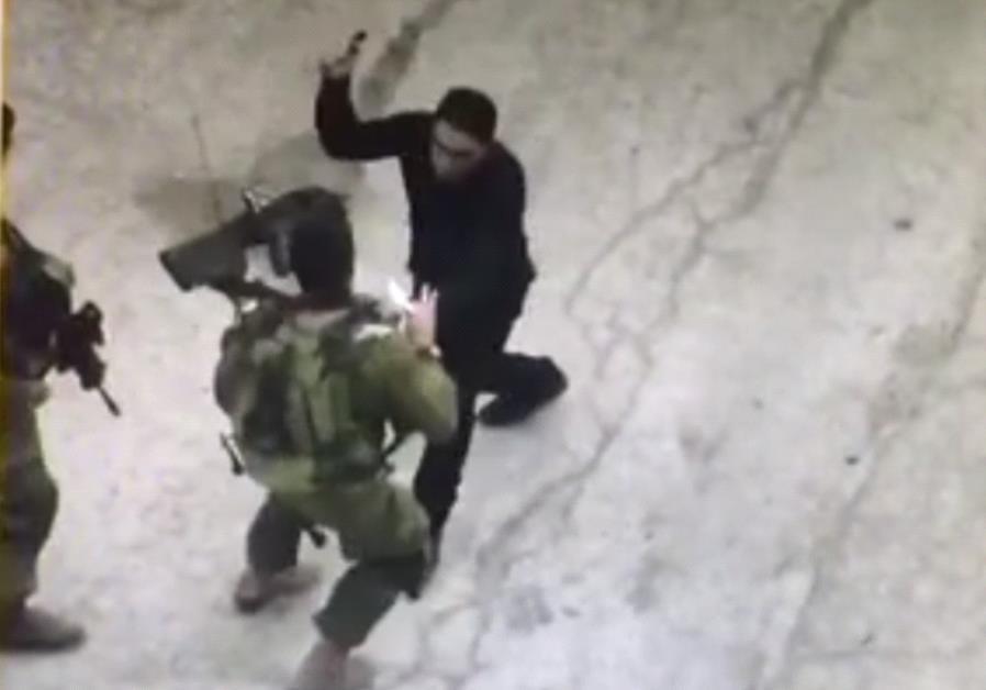 Palestinian terror attack in Hebron