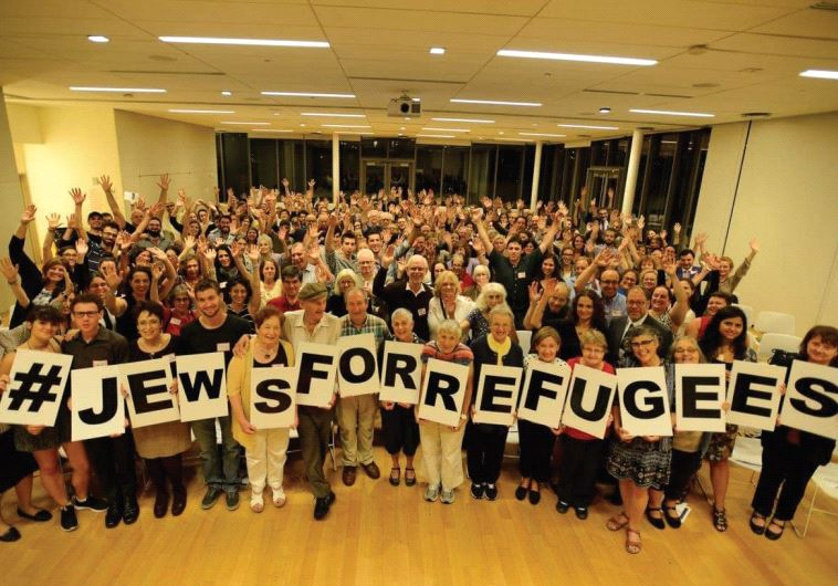 REPRESENTATIVES OF US Jewish organizations come together at HIAS's JewsforRefugees Assembly in Manha