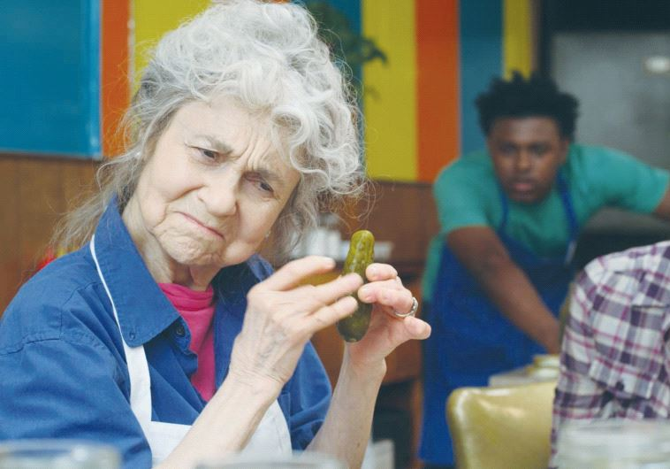 Lynn Cohen in a scene from 'The Pickle Recipe