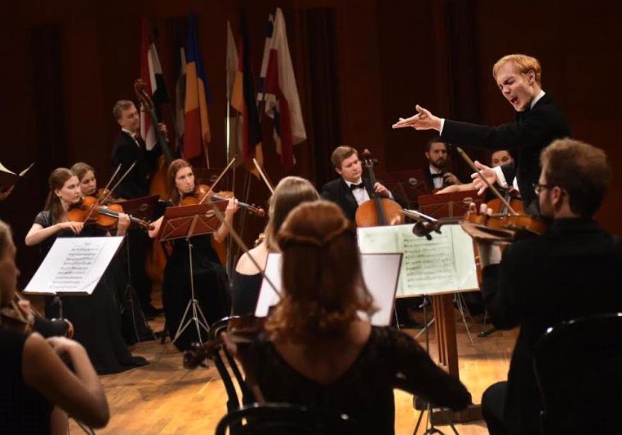 Actor Rafael Stachowiak conducting in Poland