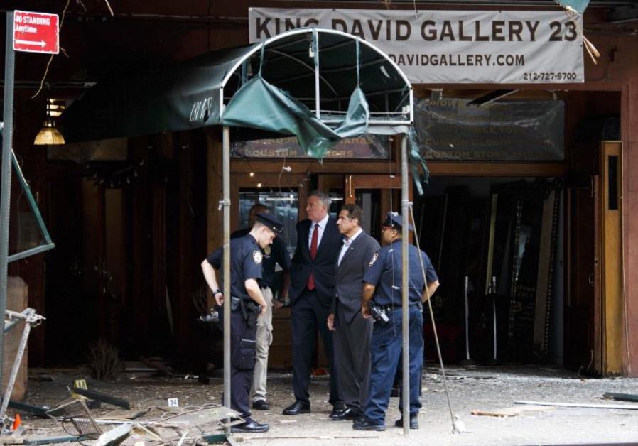 New York blast site