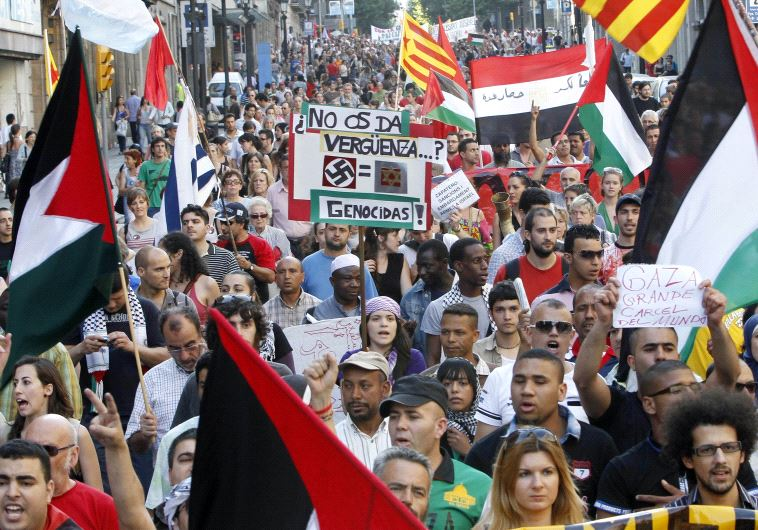Spain Palestinian bds
