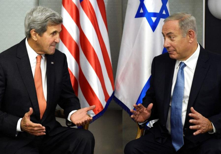 PM Benjamin Netanyahu and US Secretary of State John Kerry